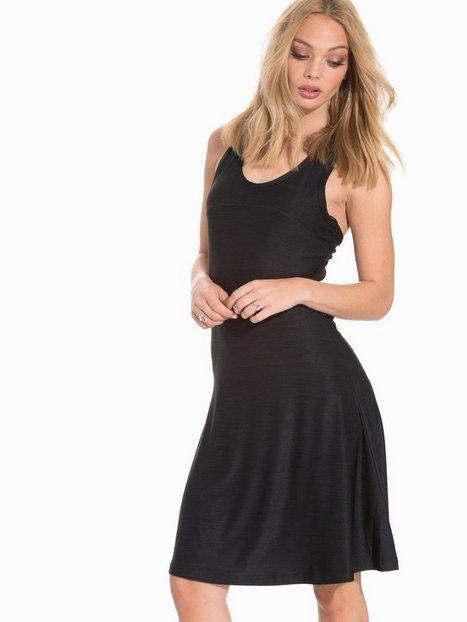 Billede af BACK Round Logo Elastic Dress Skater dresses Black
