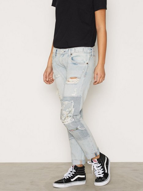 Billede af Denim & Supply Ralph Lauren Campbell Skinny Boyfriend Jeans Loose fit Denim