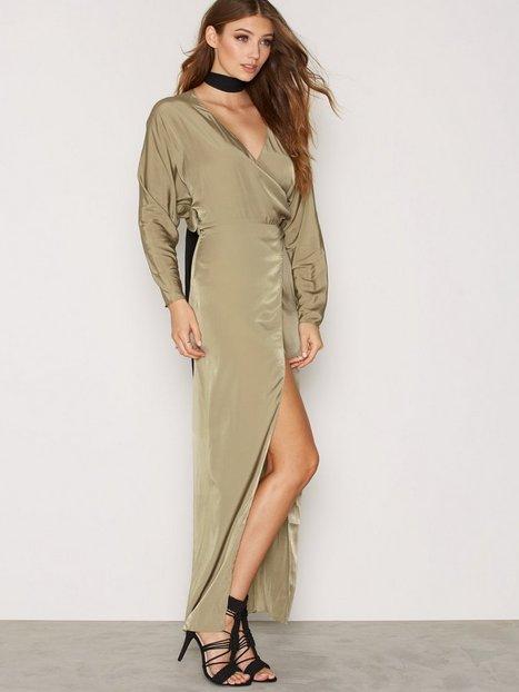 Billede af AQ/AQ Marvery Maxi Dress Kropsnære kjoler Green