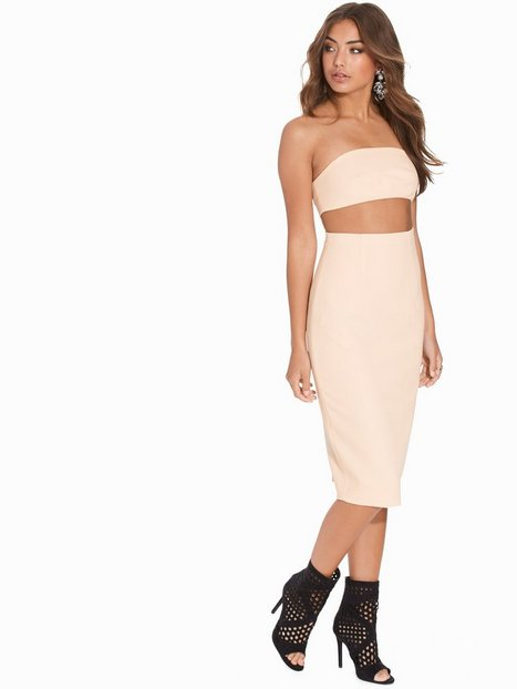 Billede af AQ/AQ Quart Midi Dress Kropsnære kjoler Blush