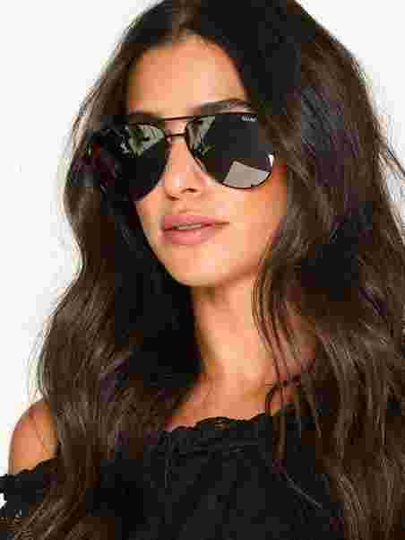 eefec7982d5b5 High Key - Quay Australia - Black Silver - Sunglasses - Accessories ...
