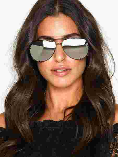 1e5bc2e29d High Key - Quay Australia - Black Silver - Sunglasses - Accessories ...