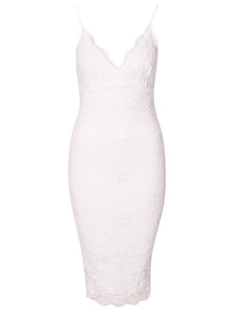 Scallop Lace Midi Bodycon