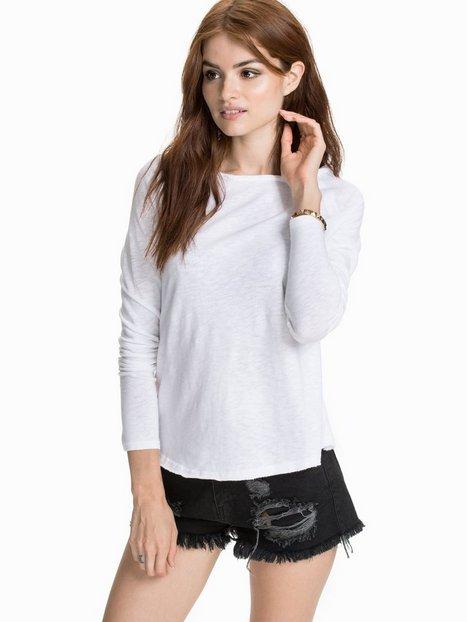 Billede af American Vintage Slubby Cotton T-shirt T-shirt Hvid
