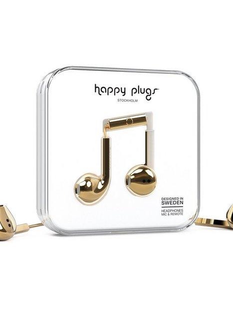 Billede af Happy Plugs Earbud Plus Høretelefoner Gold