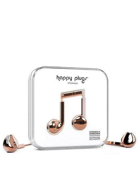 Billede af Happy Plugs Earbud Plus Mobilcover Rosegold