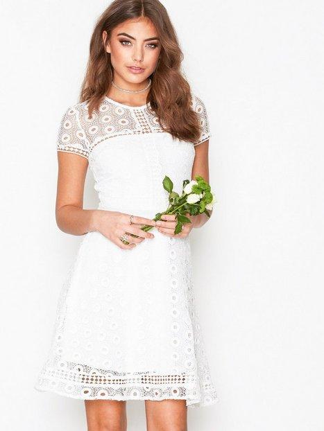 All White Party Dress Women
