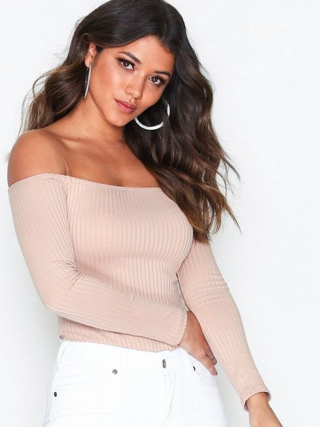 Off Shoulder Rib Body