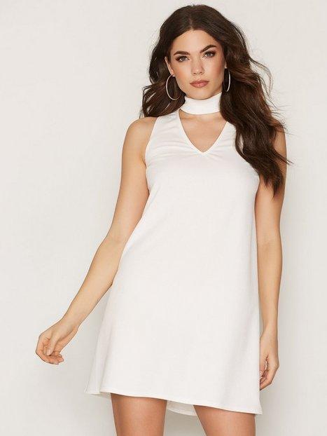 Billede af NLY One Choker Shift Dress Loose fit Hvid
