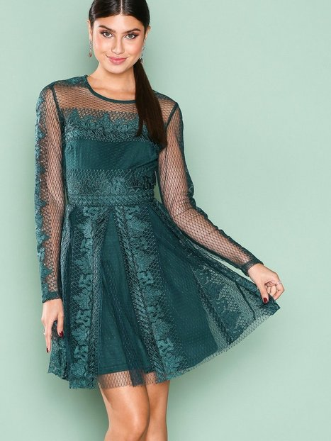 Expose Me Dress - Nly Trend - Dunkelgrün - Partykleider - Kleidung ...