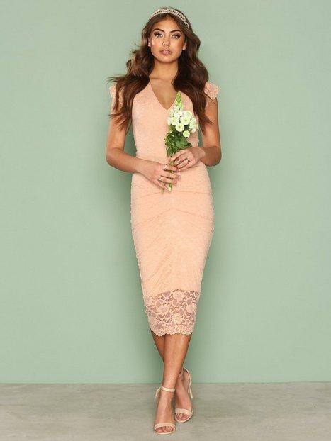 Billede af Honor Gold Demi Midi Kropsnære kjoler Blush