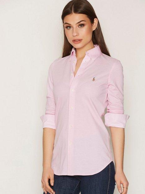 Billede af Polo Ralph Lauren Long Sleeve Heidi Skinny Knit Bluser & Skjorter Pink