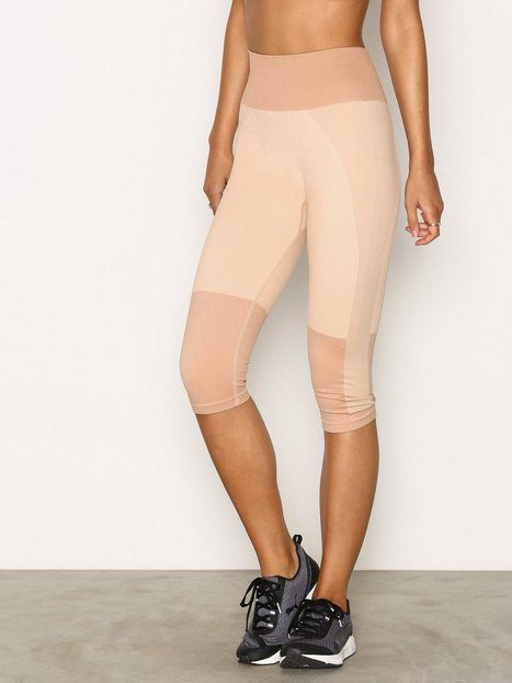 Billede af Fashionablefit High Tone Seamless Capri 3/4 Træningstights Dusty Pink