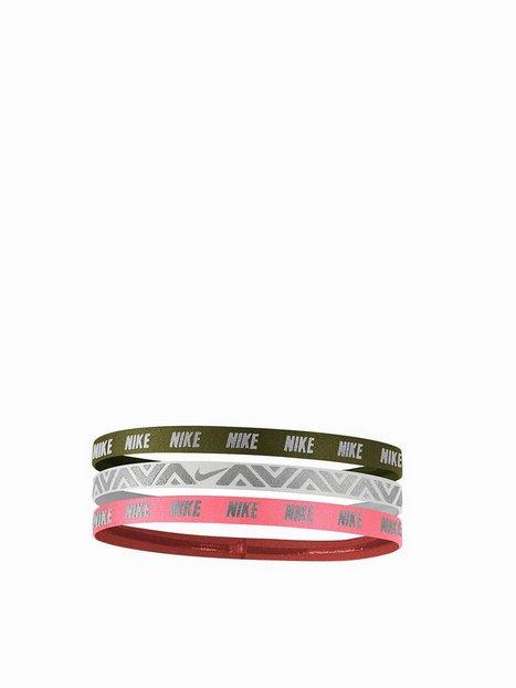Billede af Nike Metallic Hairbands 3 pack Pandebånd & Armbånd Grøn