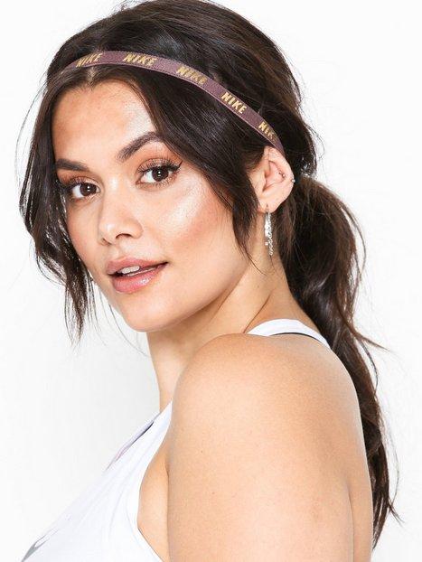 Billede af Nike Metallic Hairbands 3 pack Pandebånd & armbånd Flerfarvet