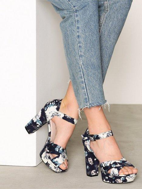 Billede af Bianco Clean Basic Sandal Heels Marine