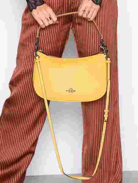 95656b149 Polished Pebble Lthr Chelsea Crossbody - Coach - Yellow - Bags ...