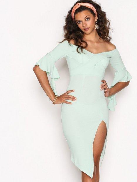 Billede af Ginger Fizz Such A Babe Dress Kropsnære kjoler Turqoise