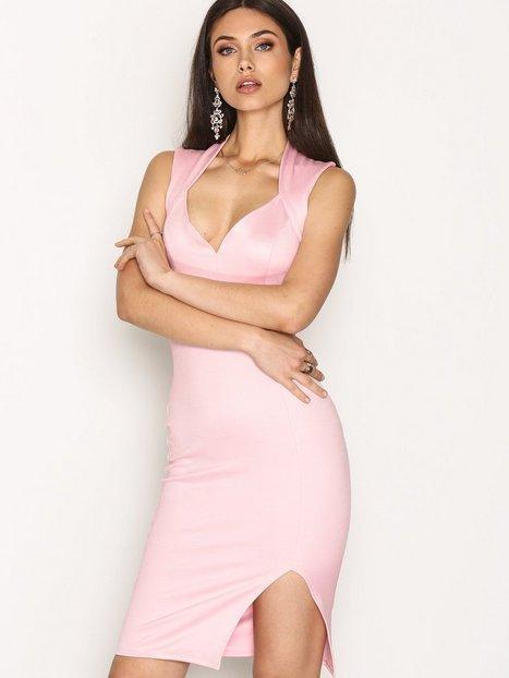 Billede af NLY One Bandage Bodycon Kropsnære kjoler Lys Rosa