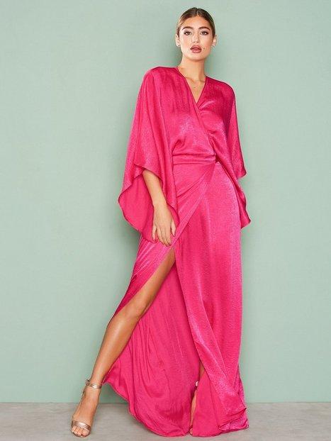 Kimono Wrap Maxi Dress
