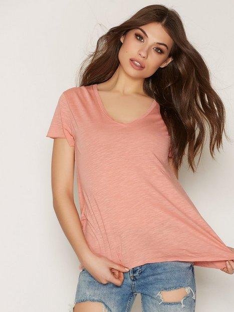 Billede af American Vintage V Neck Tee-Shirt T-shirt Rose