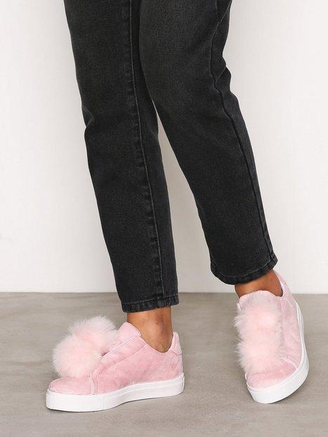 Billede af Bianco Pom Pom Sneakers Slip-On Rose