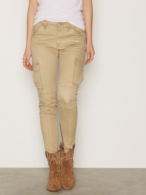 Denim & Supply Ralph Lauren Skinny Cargo Pant Byxor Tan thumbnail
