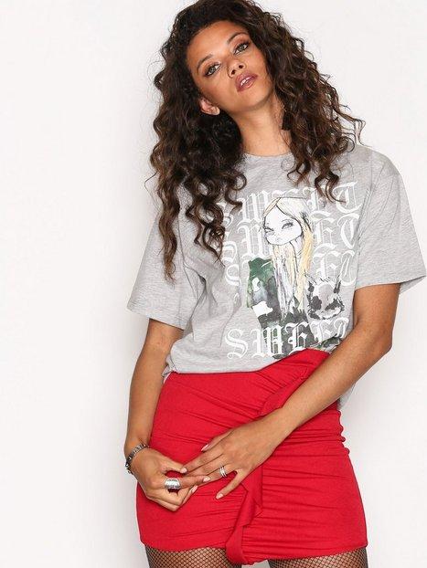 Billede af Sweet Sktbs Pea Raven T-Shirt T-shirt Light Grey Melange