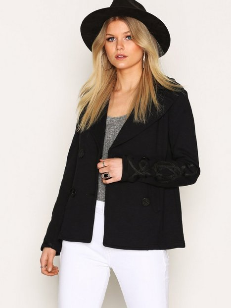 Denim & Supply Ralph Lauren Bohemian FreTerry Coat Kavajer Navy thumbnail