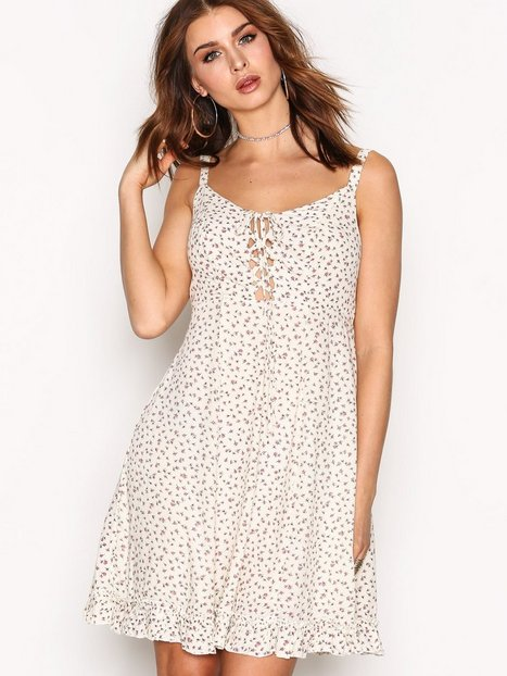 Denim & Supply Ralph Lauren Flirty Sun Short Sleeve D Loose fit dresses Cream/Multi thumbnail