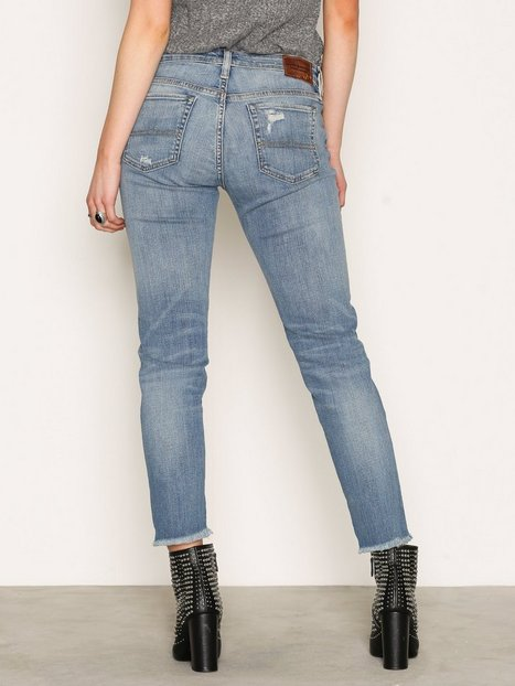 Billede af Denim & Supply Ralph Lauren Crop Skinny 5pt Denim Jeans Skinny Denim