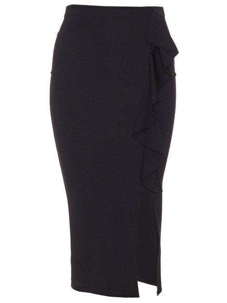 Frill Slit Skirt