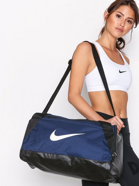 Nike Brasilia Small Training Duffel Bag Treenilaukut Navy thumbnail