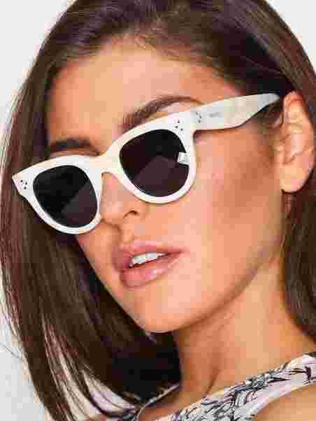 d6e097e4b35a Baby Audrey - Céline - White - Sunglasses - Accessories - Women ...