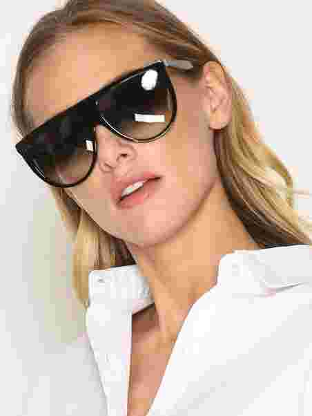 997756b0f098 Thin Shadow - Céline - Black - Sunglasses - Accessories - Women ...