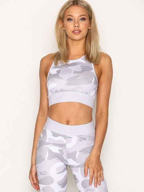 Billede af NLY SPORT Camo Sports Top Top Tight Fit Camouflage