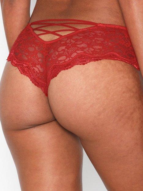 Billede af NLY Lingerie Back Detail Lace Panty Brazilian
