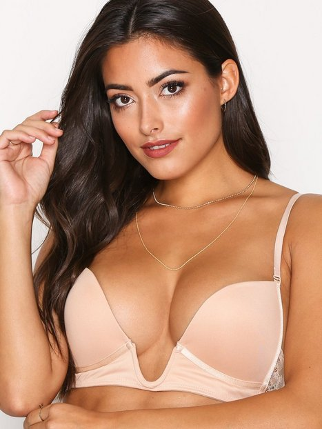 NLY Lingerie Super Plunge Push Bra Push-up & Balconette BH Champagne thumbnail