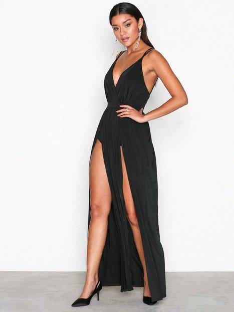 088dca62c6c1 Billede af NLY One Double Slit Maxi Dress Maxikjoler Sort