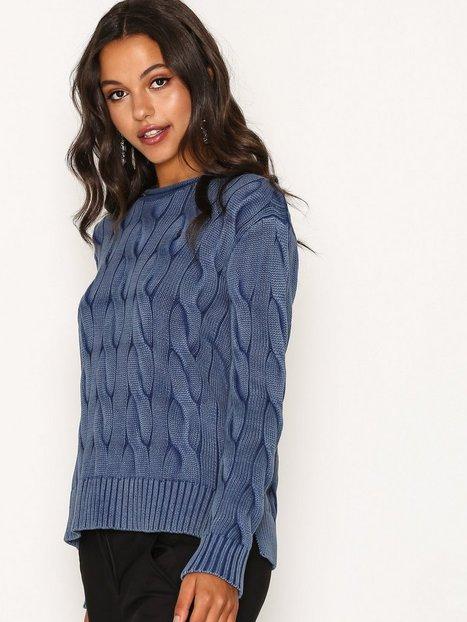 boxy rollneck sweater - Ralph Lauren Indigo