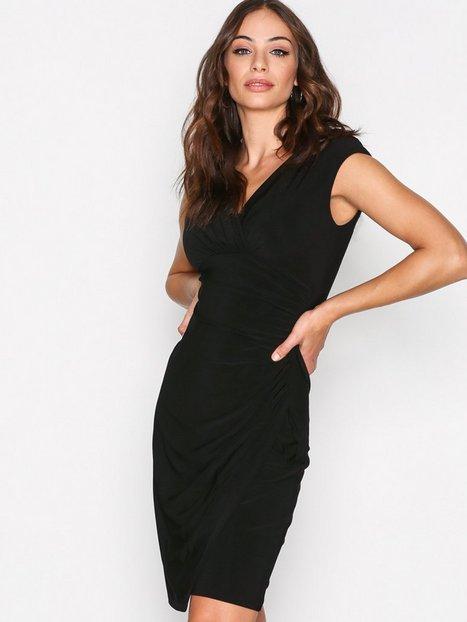 Billede af Lauren Ralph Lauren Adara Cap Sleeve Dress Kropsnære kjoler Black