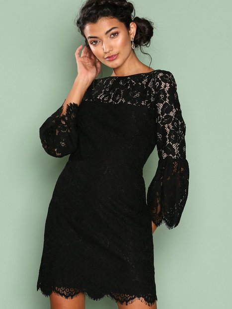 Lauren Ralph Lauren Yalie Dress Kotelomekot Black/White thumbnail