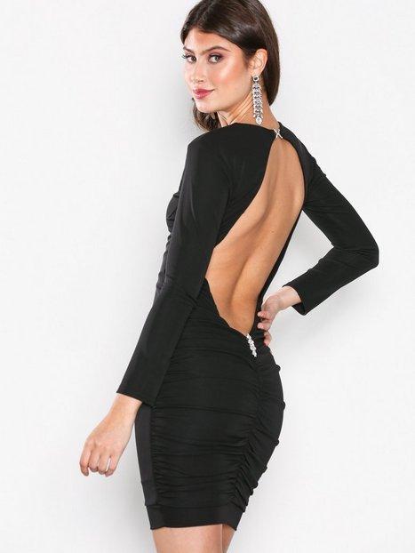 Billede af Honor Gold Bella Midi Dress Kropsnære kjoler Black
