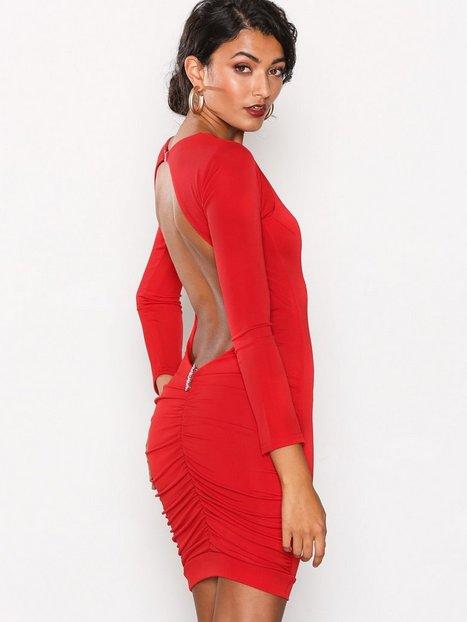 Billede af Honor Gold Bella Midi Dress Kropsnære kjoler Red