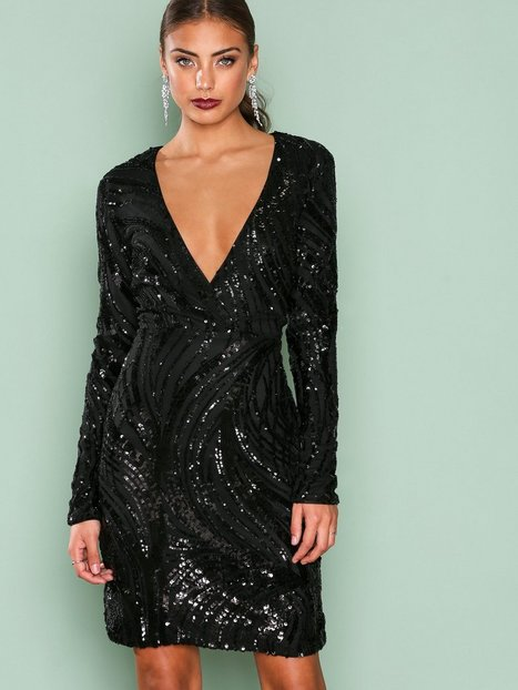 Luxe Glitter Dress