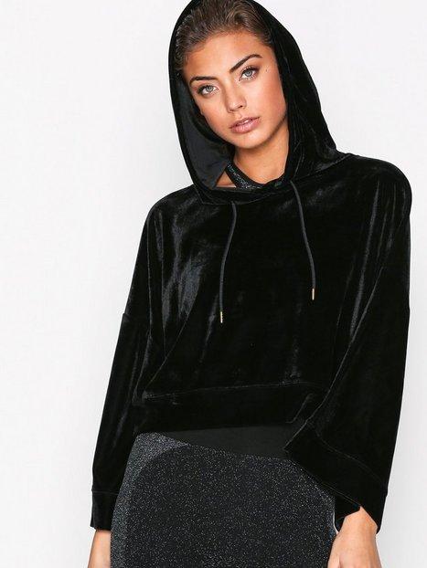 Billede af Fashionablefit Black Hoodie Trøjer Sort