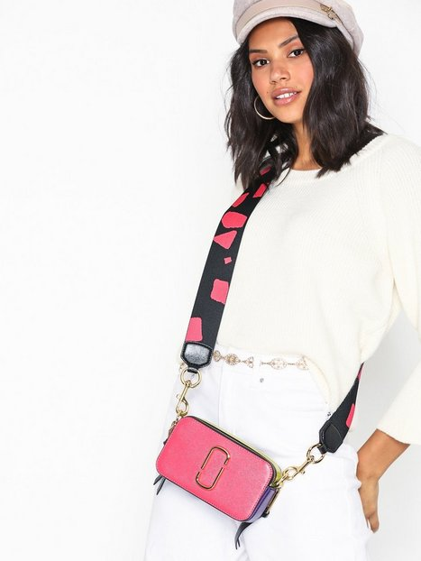 Marc Jacobs Snapshot Bag Skuldertaske Peony