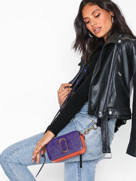 Marc Jacobs Snapshot Bag Skuldertaske Violet