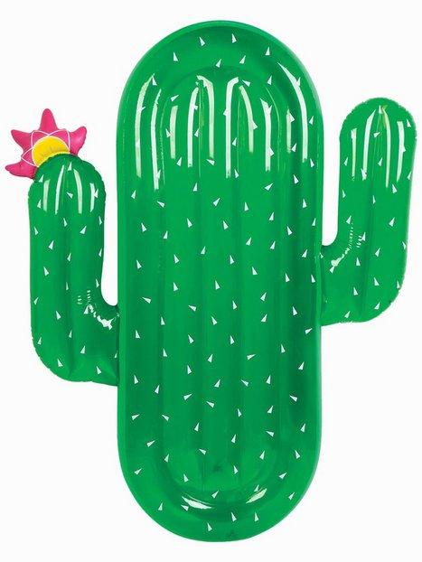 Billede af Sunnylife Luxe Lie-On Float Cactus Strandtøj Grøn