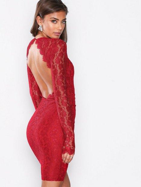 Bombshell LS Lace Dress